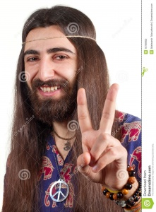 hippie-long-hair-making-peace-sign-18789953