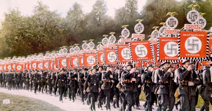 Nazi-Party-rally-Nurnberg-Germany-1933