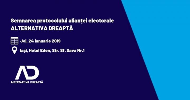 """low priced 2acf1 f8578 """"Alternativa Dreaptă"""" lansează Protocolul de Alianță pentru Alegerile  Europarlamentare"""