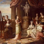 Portraits-in-the-Characters-of-the-Nine-Muses-in-the-Temple-of-Apollo